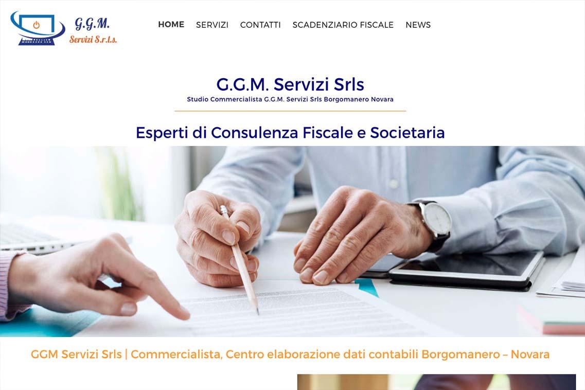 sito web ggm servizi novara